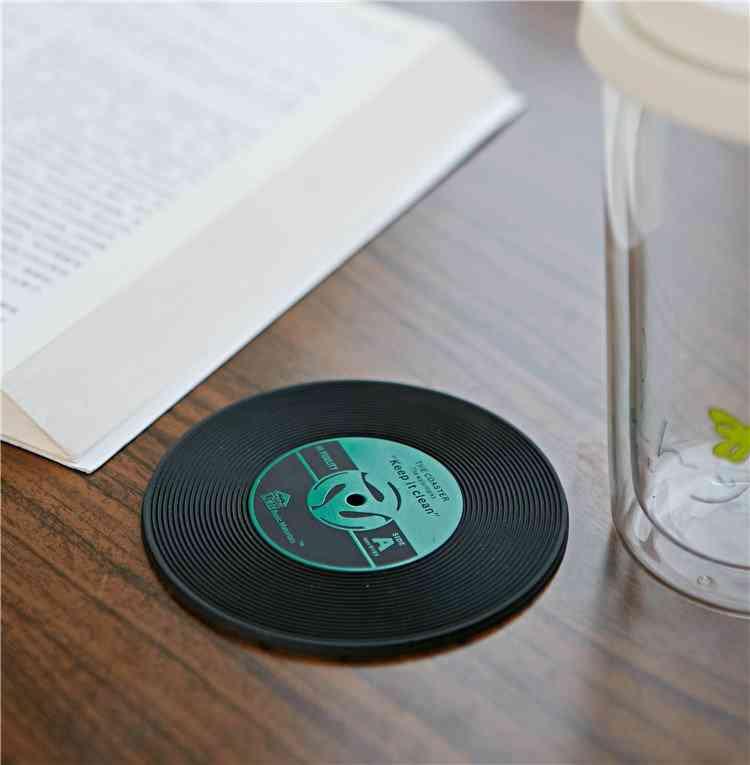 Vinyl Record, Coaster Set