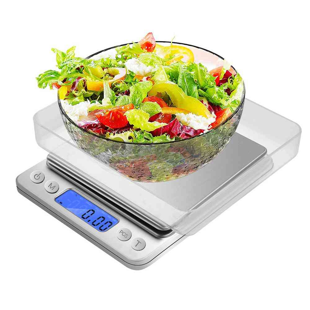 Food Digital Kitchen Scale Weight Grams For Cooking Baking