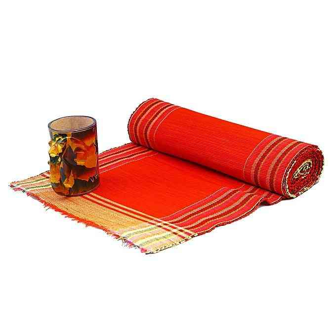 Raffia Leaves Set Of Placemats