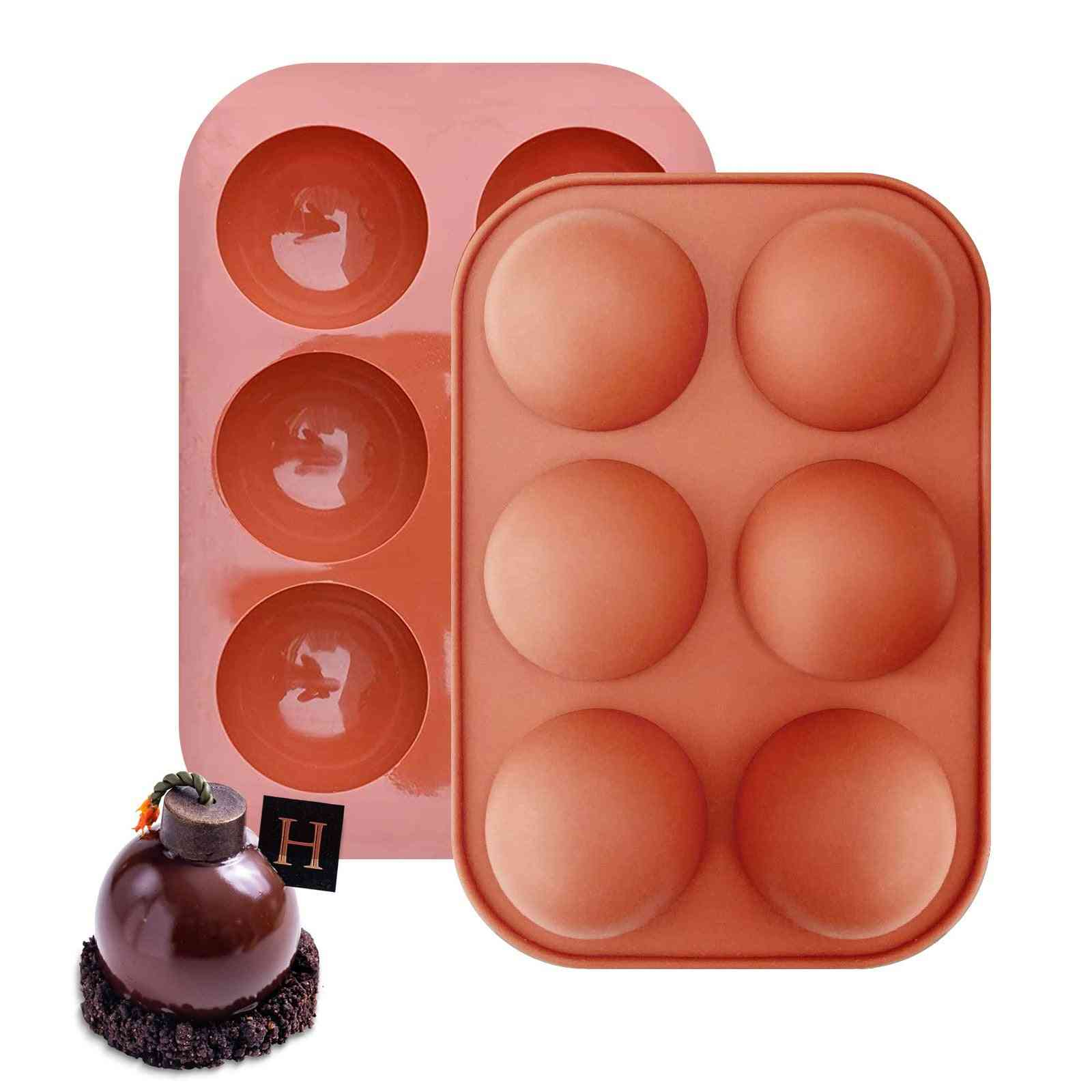 Chocolate Bomb Baking Sphere Silicone Mold