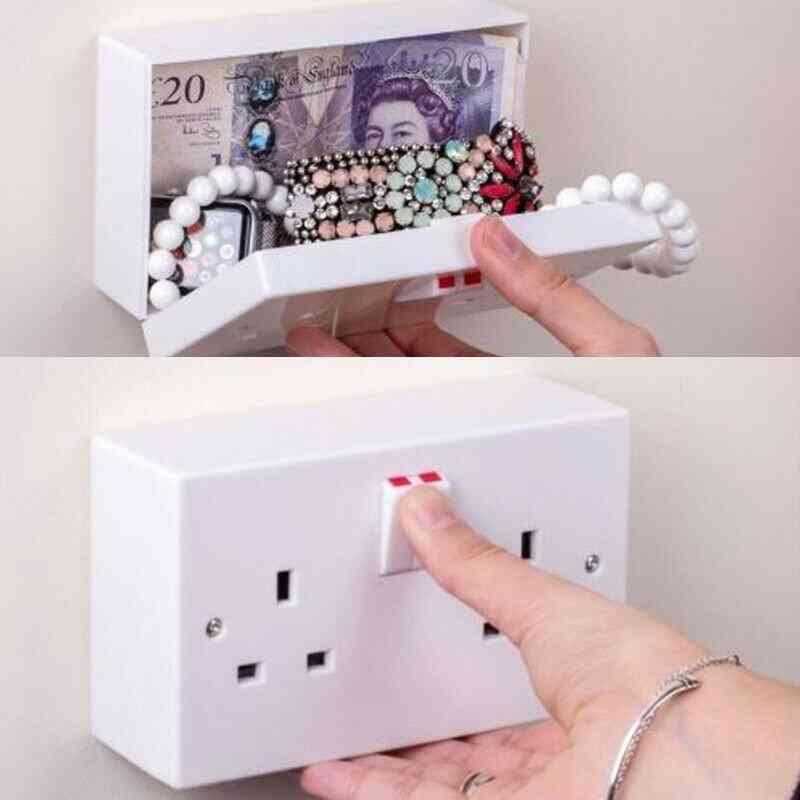 Hidden Outlet Wall Safe