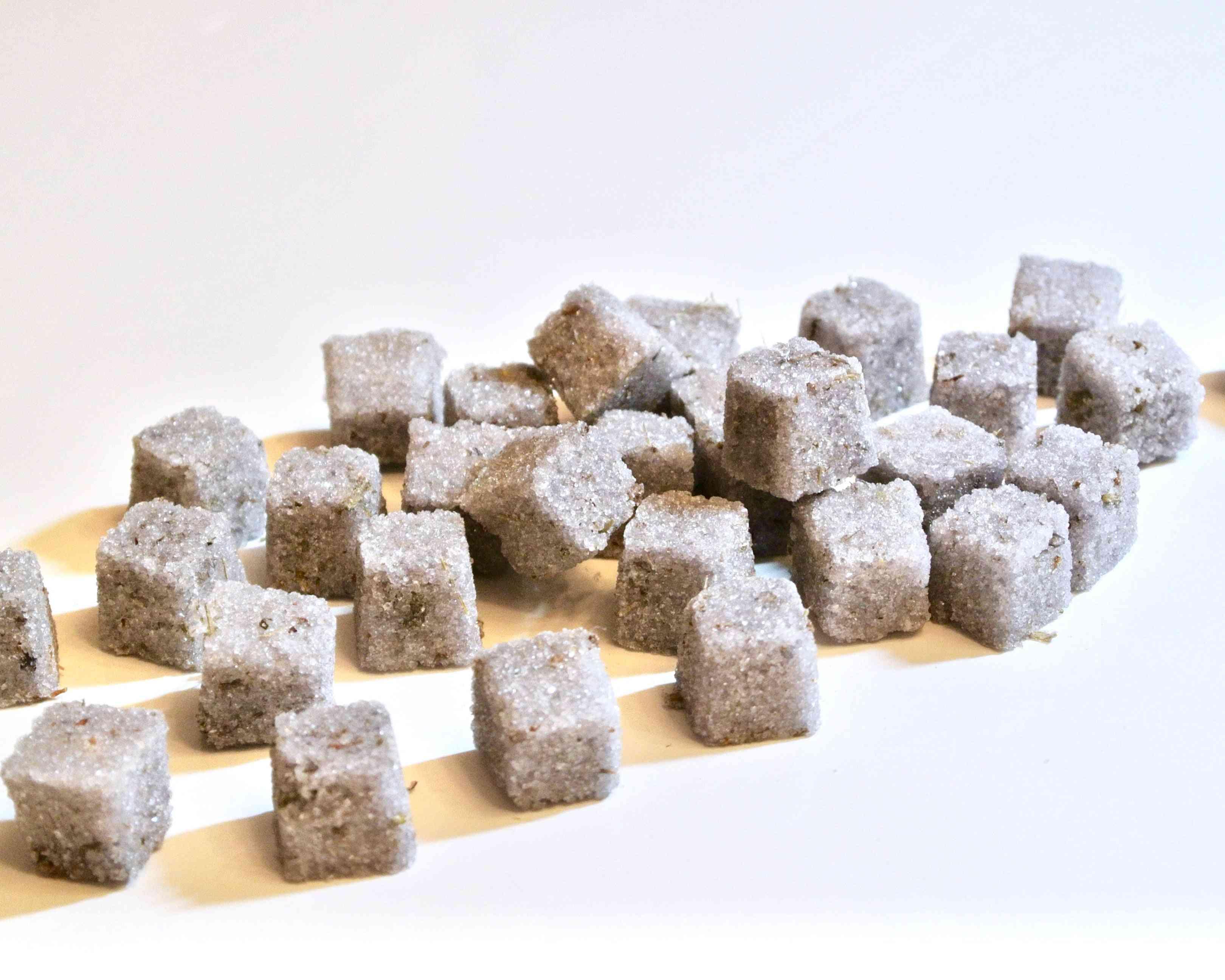 Lavender Sugar Cubes, Champagne Toasts, Tea