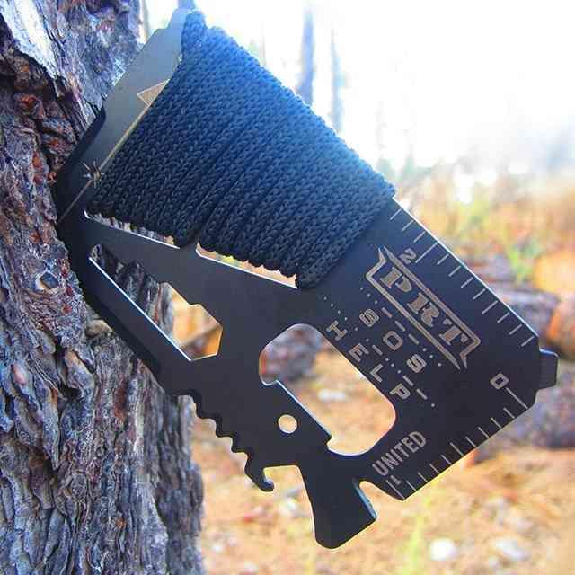 14-in-1 Stainless Steel, Survival Multi-tool