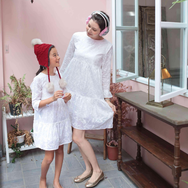 Mother & Girl Matching Dress