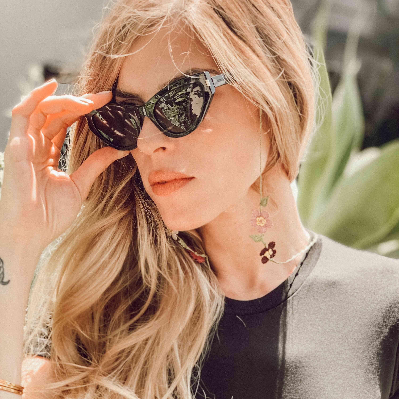Hand Embroidered Delisa Sunglasses Chain