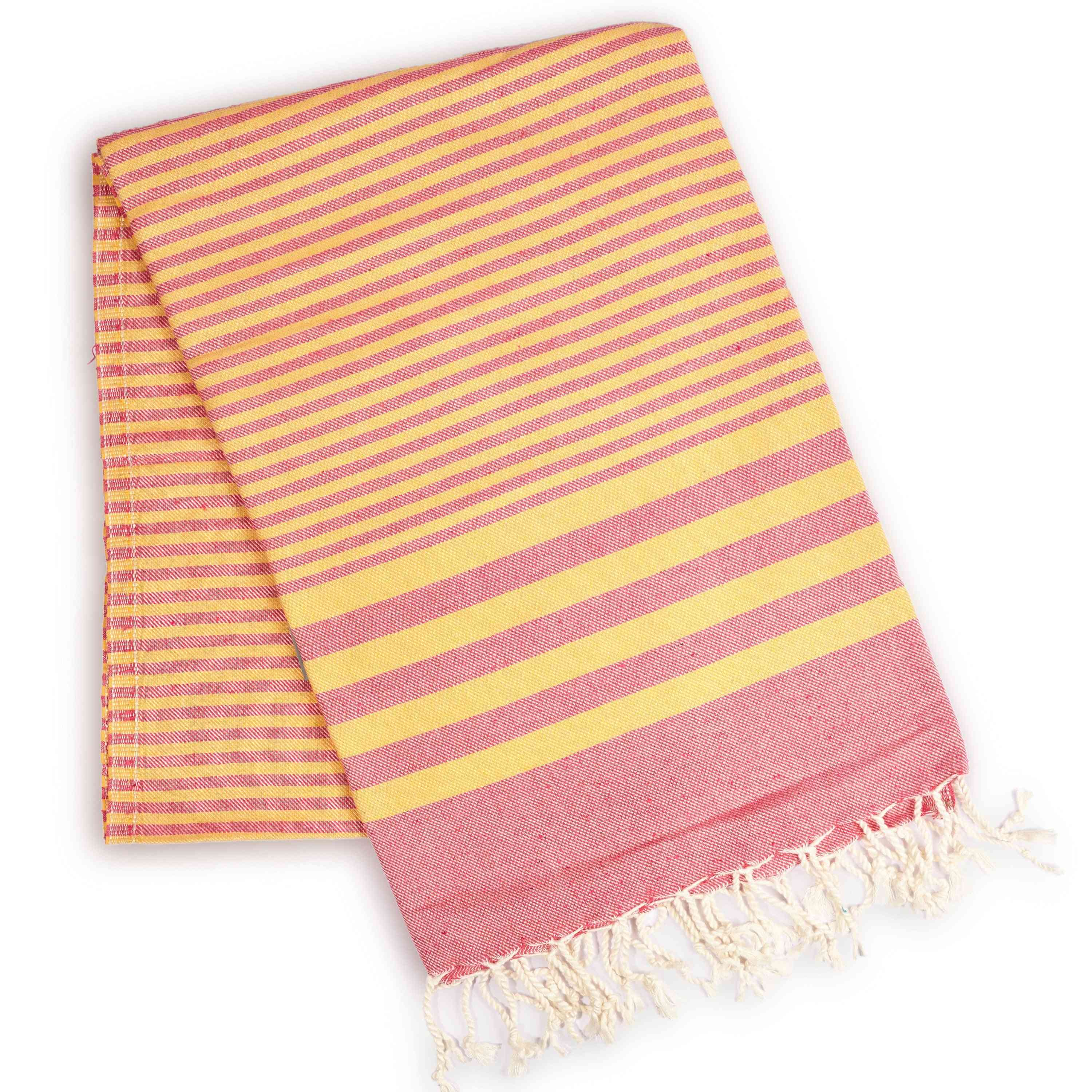 Attractive Striped- Fold Down Towel
