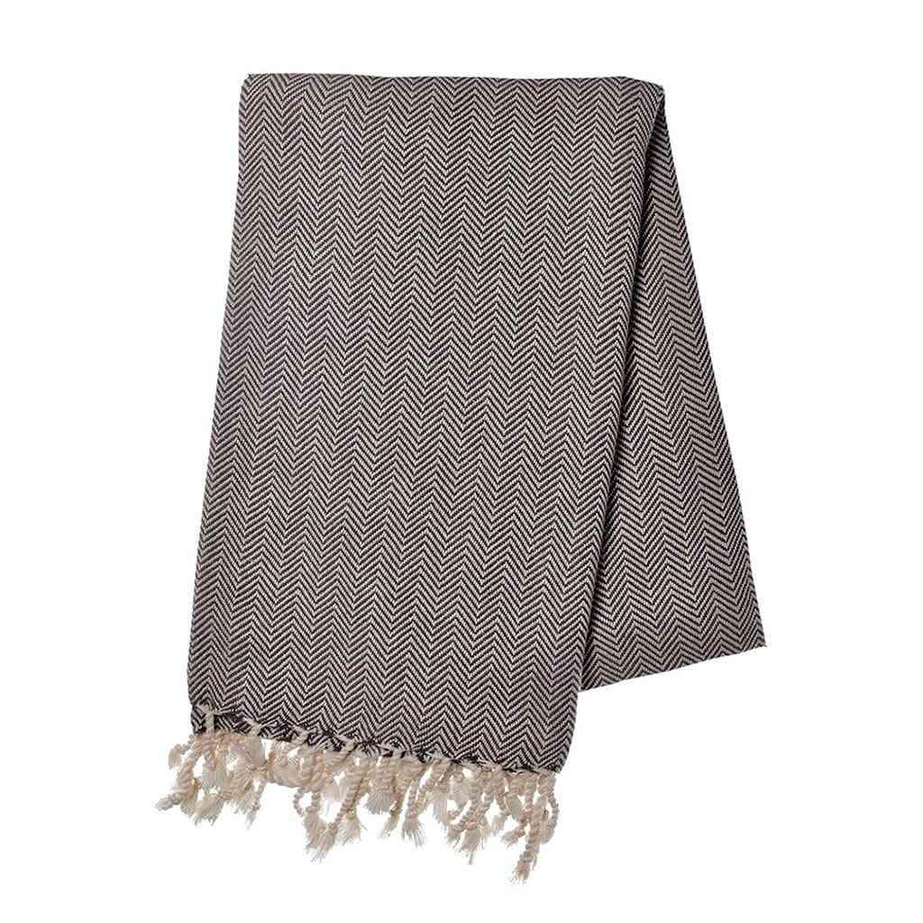 Herringbone Bath Towel