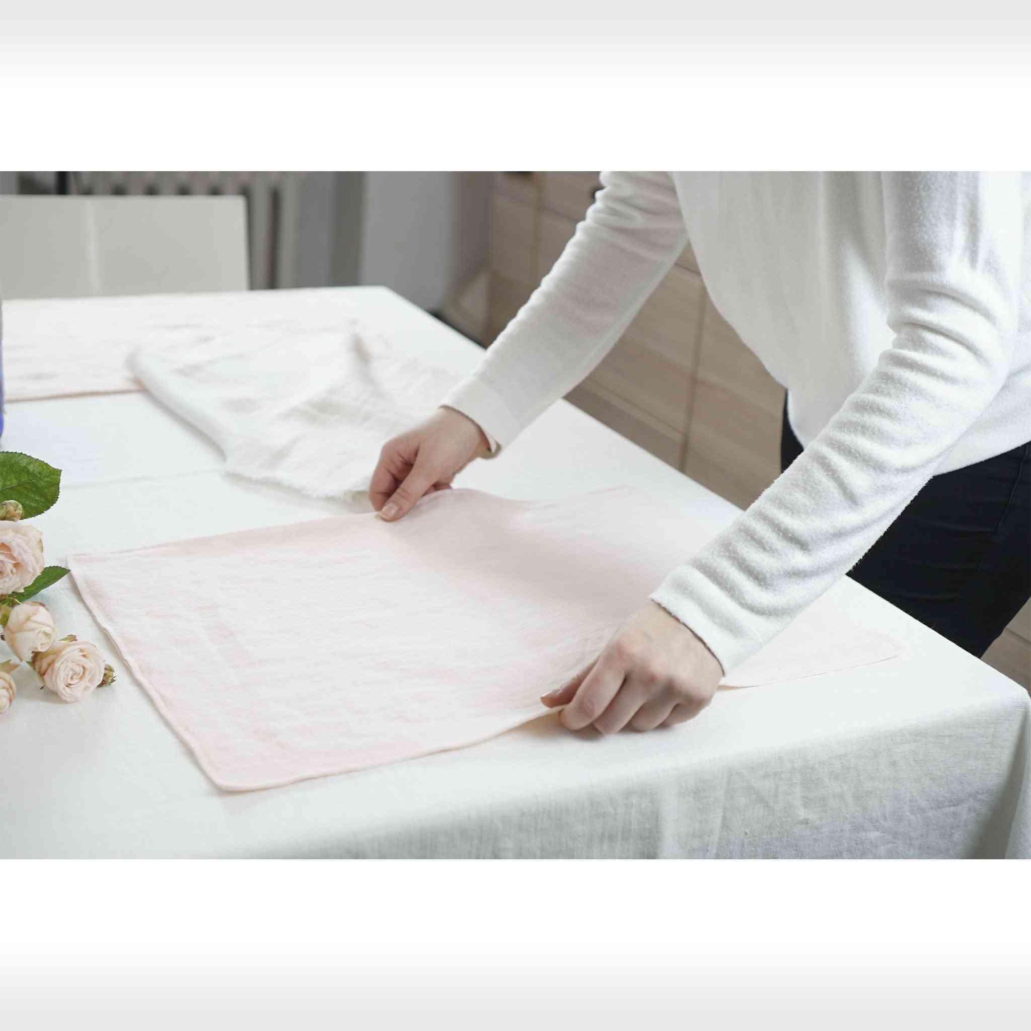 Set Of Handmade Linen Placemats