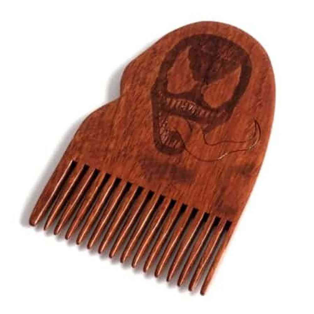 Venom Wooden Beard Comb