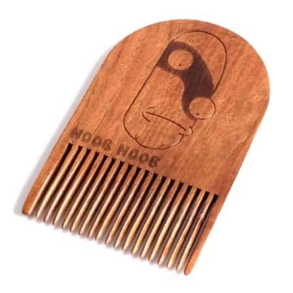 Rick & Morty Noob Noob Wooden Beard Comb