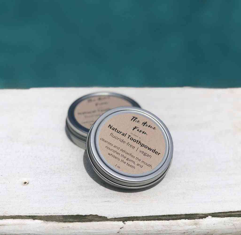 Natural Plant Based Toothpowder