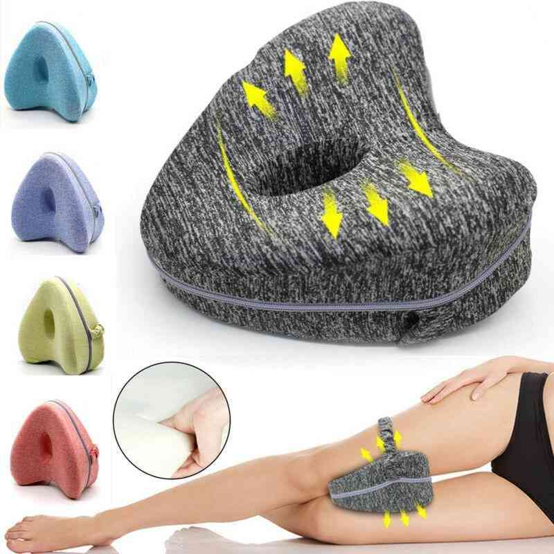 Heart-shaped Memory Foam, Contour Leg Pillow