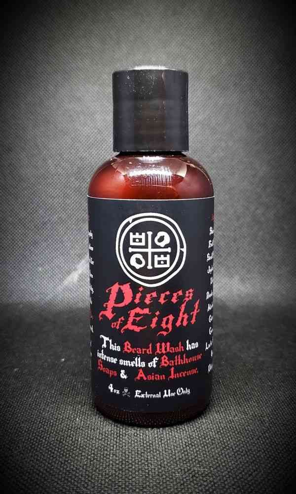 Beard Wash Pieces Of Eight Oil