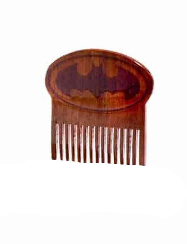 Batman Wooden Beard Comb