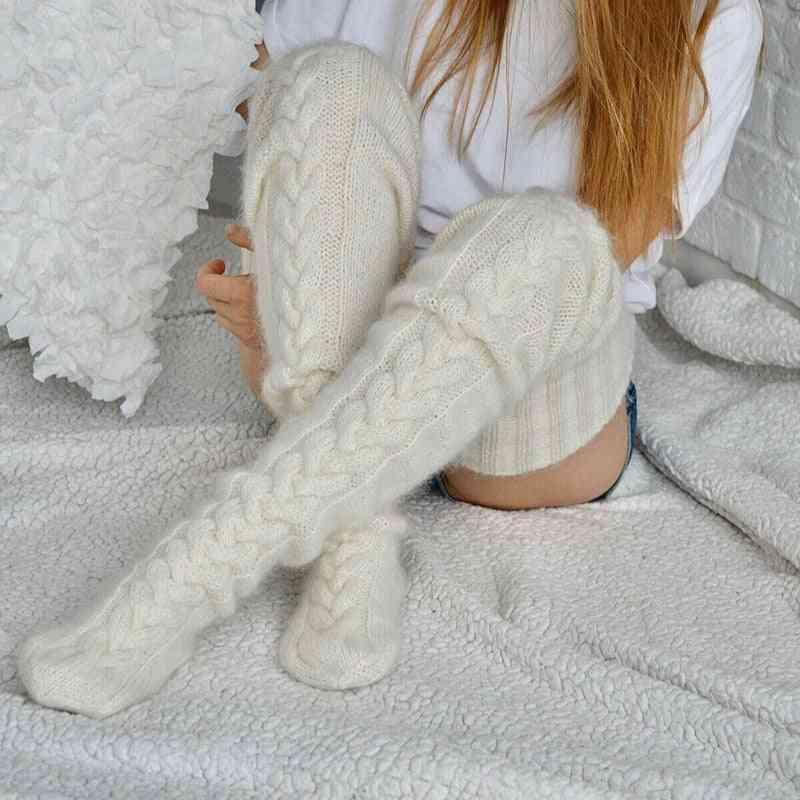 Socks Over The Knee Lengthened Stockings