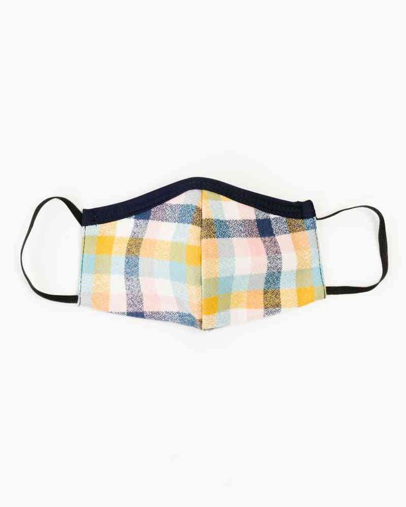 Blush Flannel's Face Mask