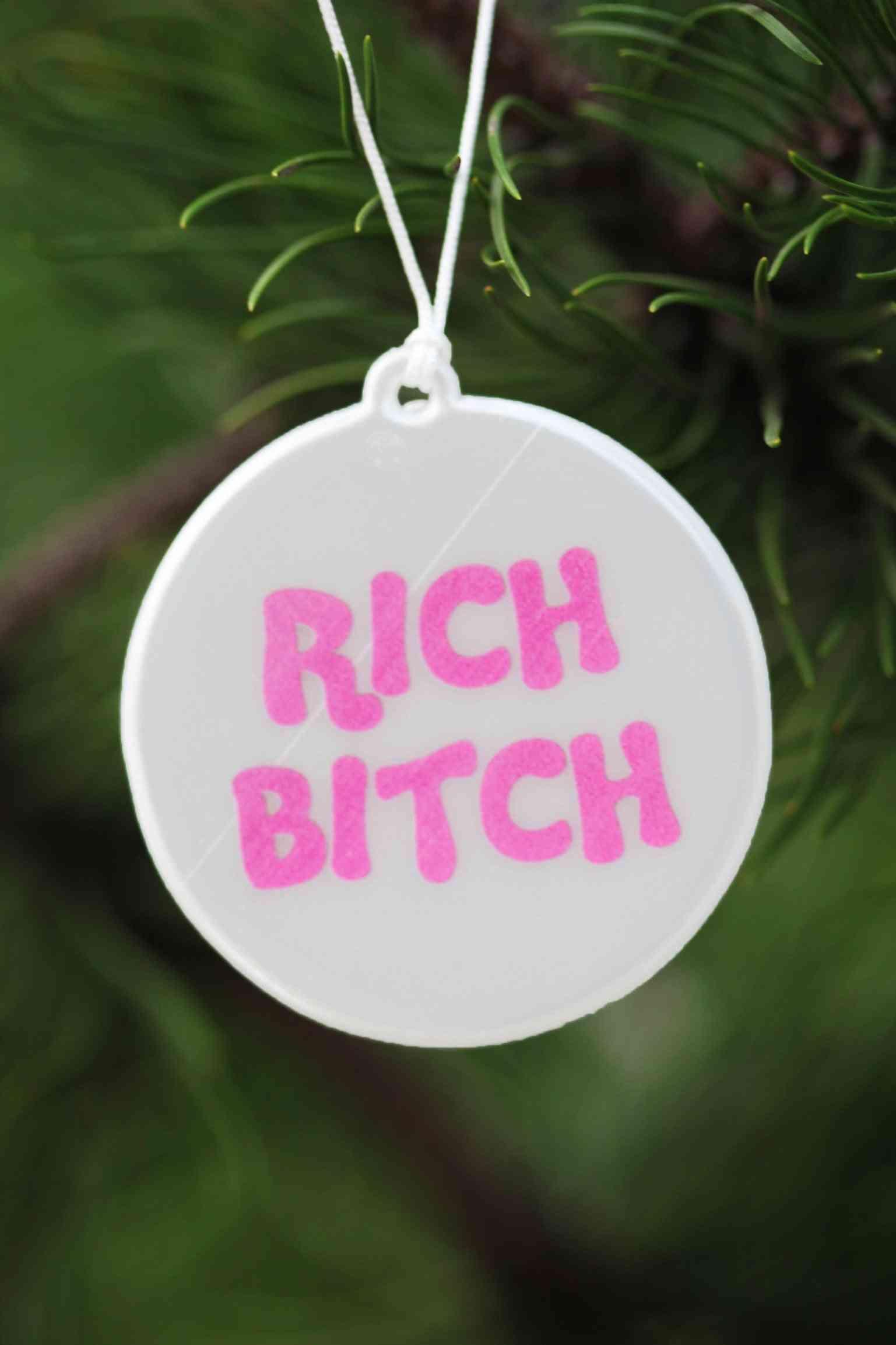 Rich Bitch Reflector