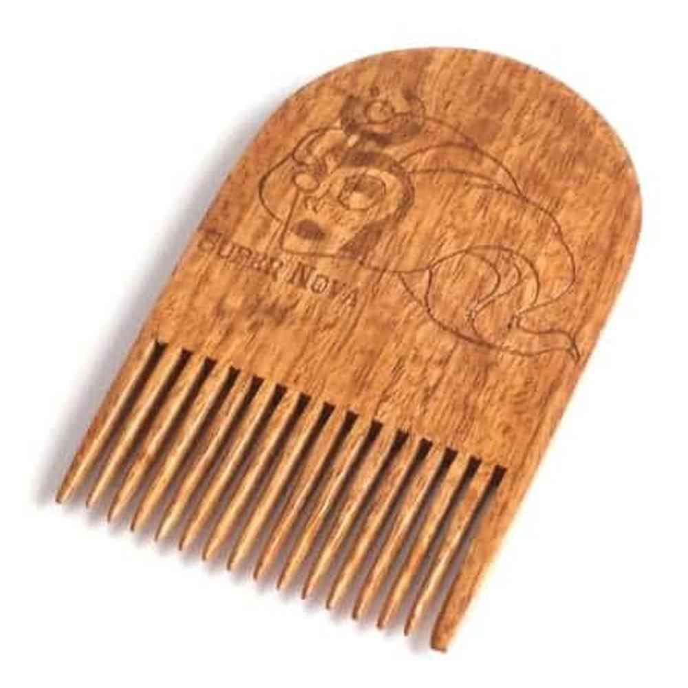 Rick & Morty Super Nova Wooden Beard Comb