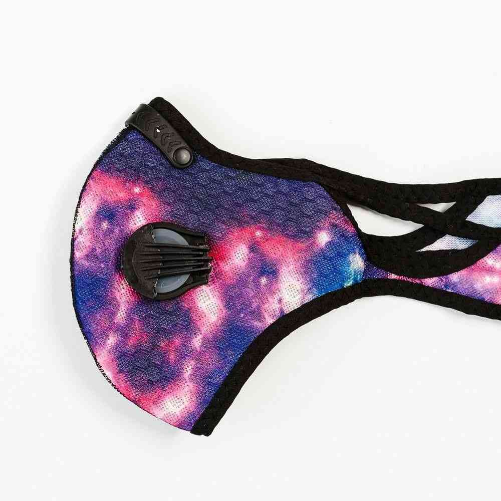 Rainbow Printed Sports Face Mask