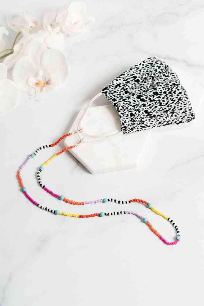 Andes Mask Necklace