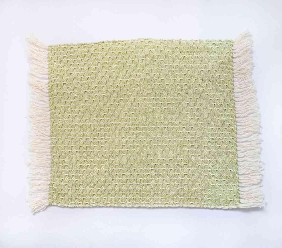 Diamond Feijoa Green Placemat (set Of 4)