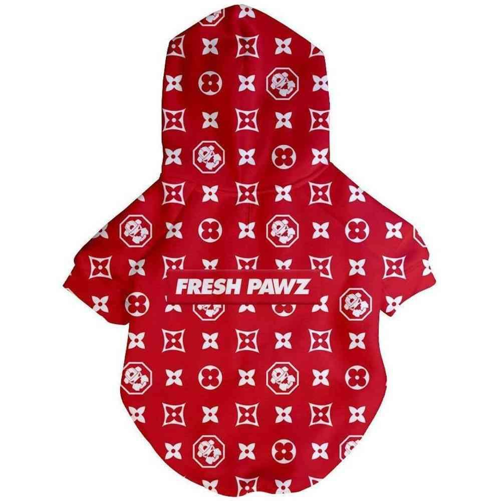 Monogram Hype Hoodie-dog Clothing