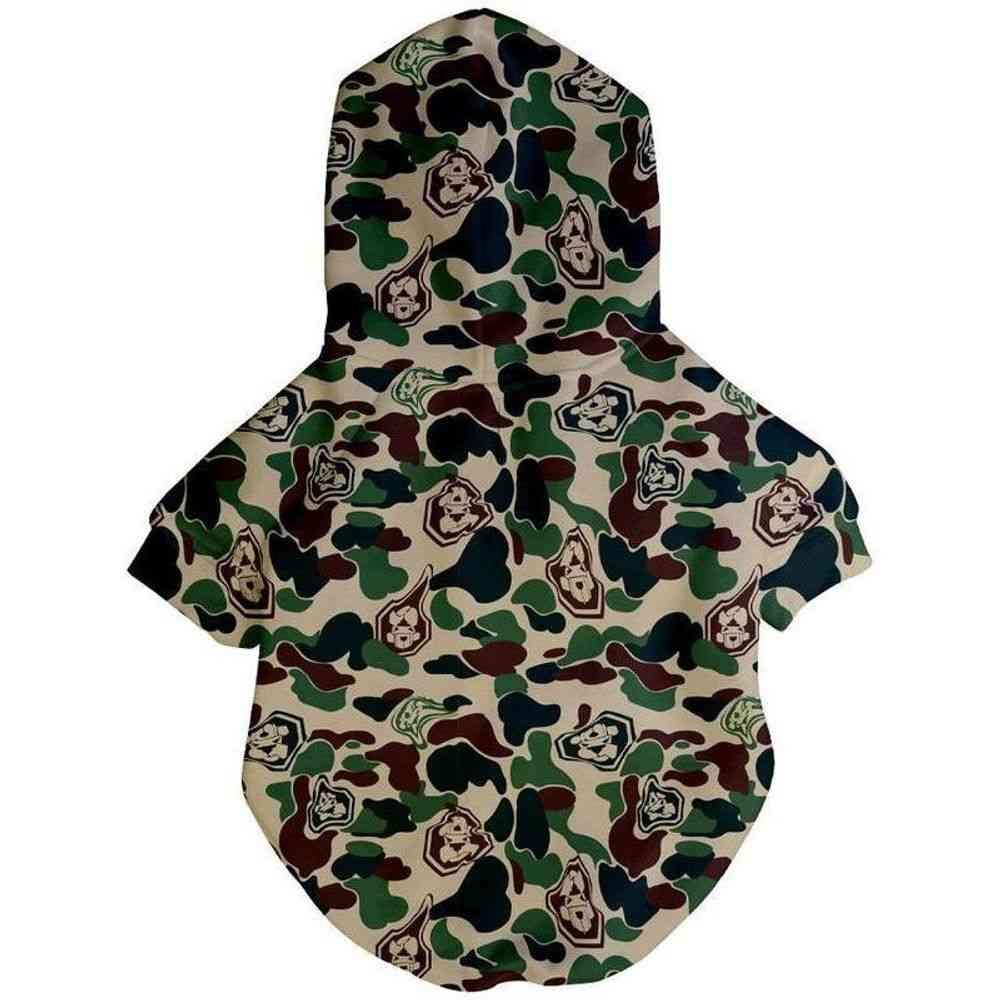 Hype Camo Hoodie   Dog Clothing