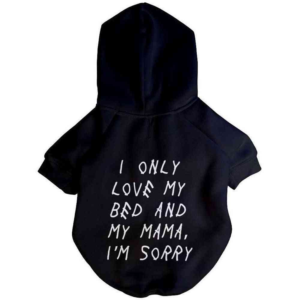 Champagne Puppy Hoodie   Dog Clothing