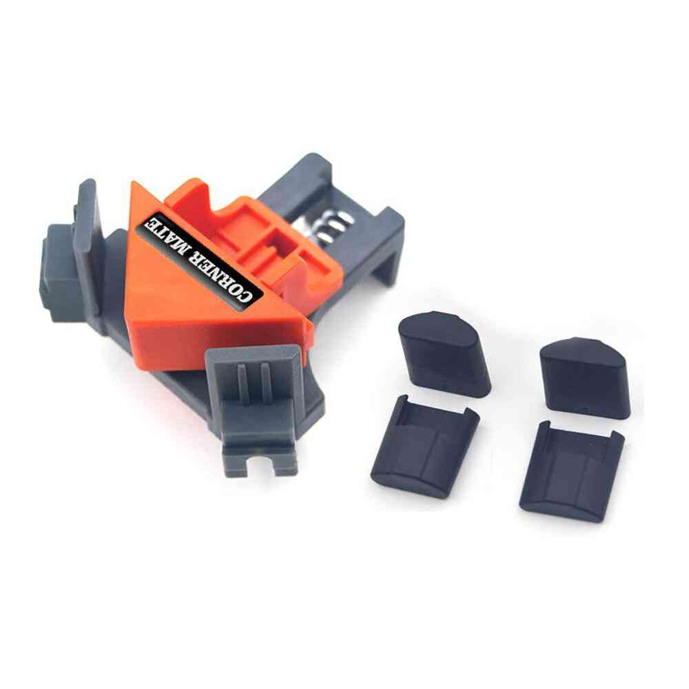4 Pcs Right Angle Fixing Corner Clamp Woodworking Hand Tool