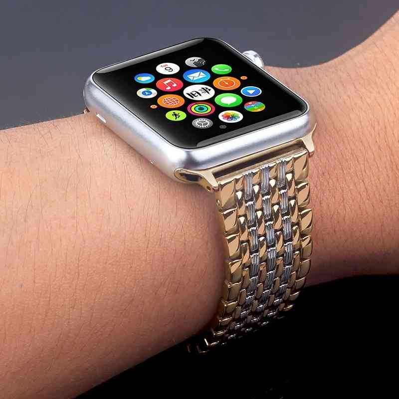 Stainless Steel Apple Watch Iwatch Strap
