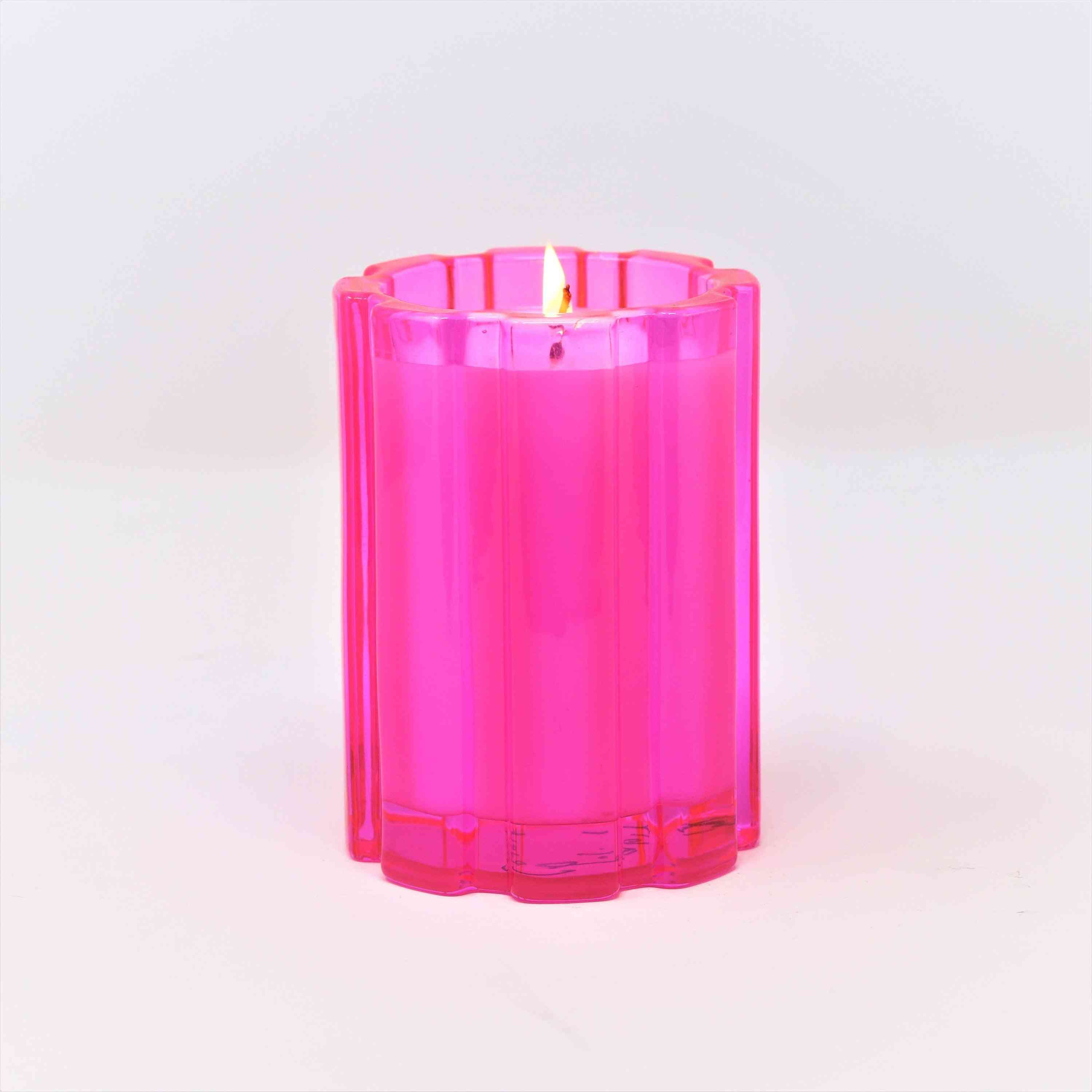 Pink Prosecco Punch Candle