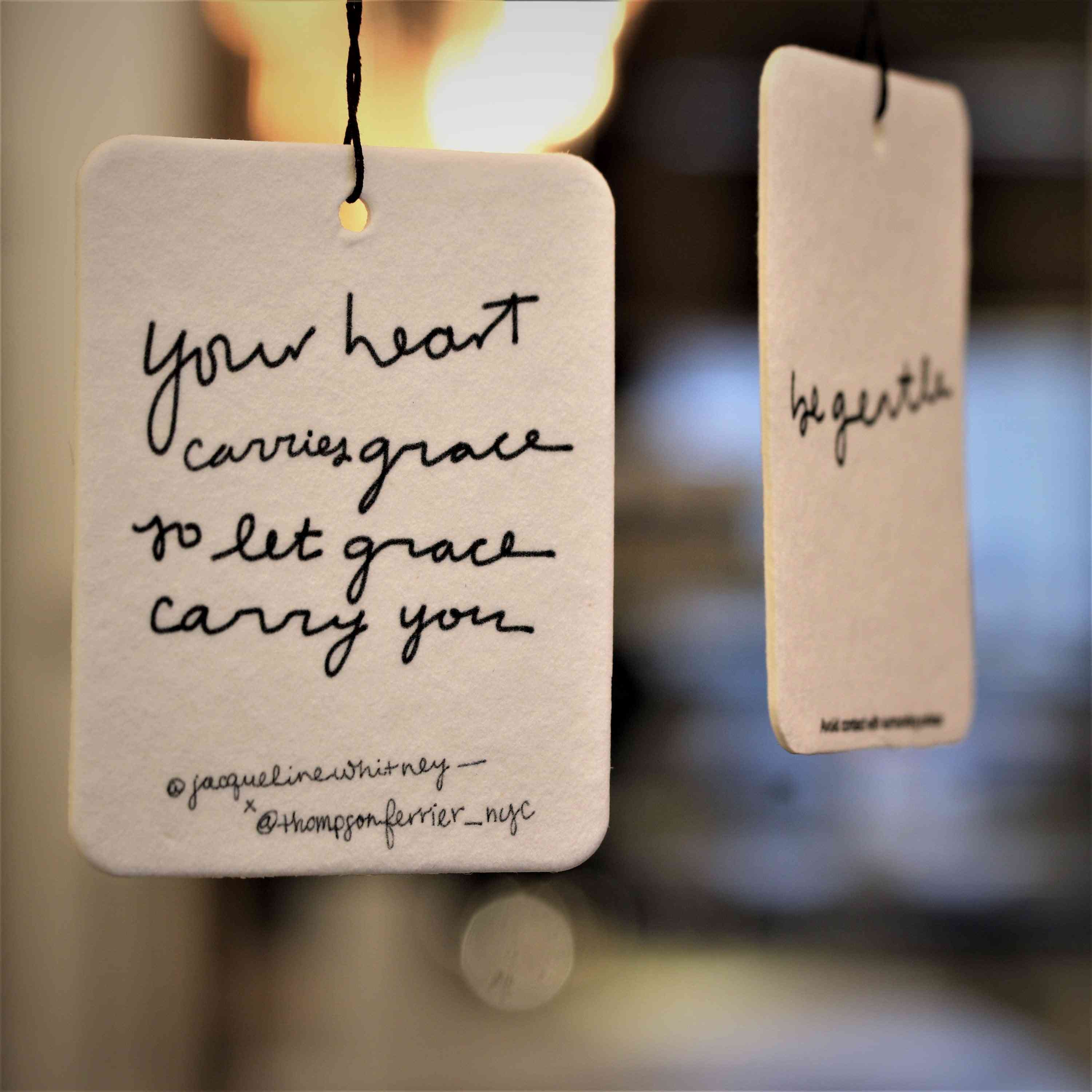 Your Heart Carries Grace - Mobile Fragrance