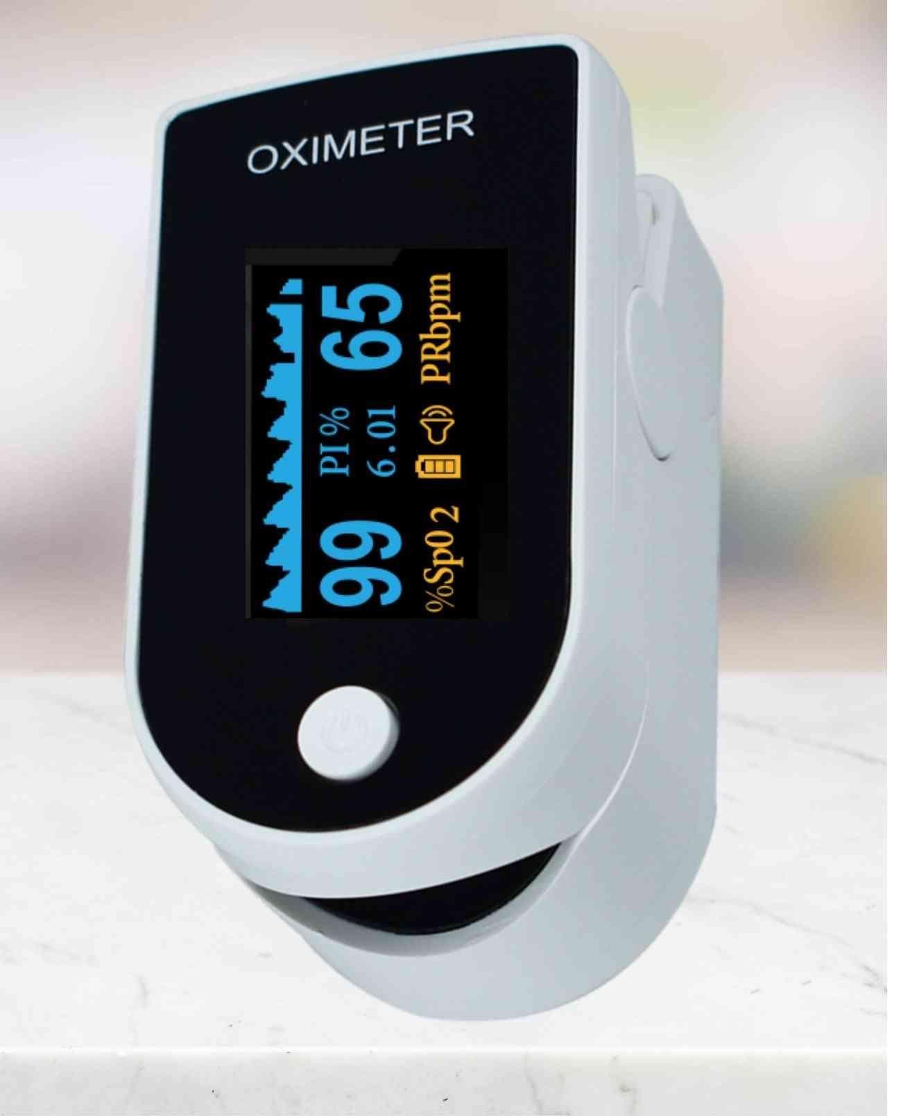Pulse Fingertip Oximeter Blood Oxygen Spo2 Monitor