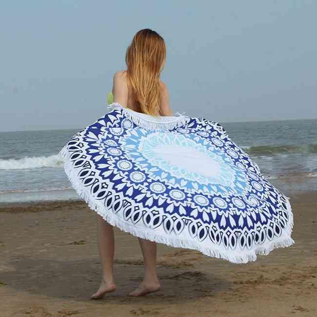 Mandara Light Green Beach Towel