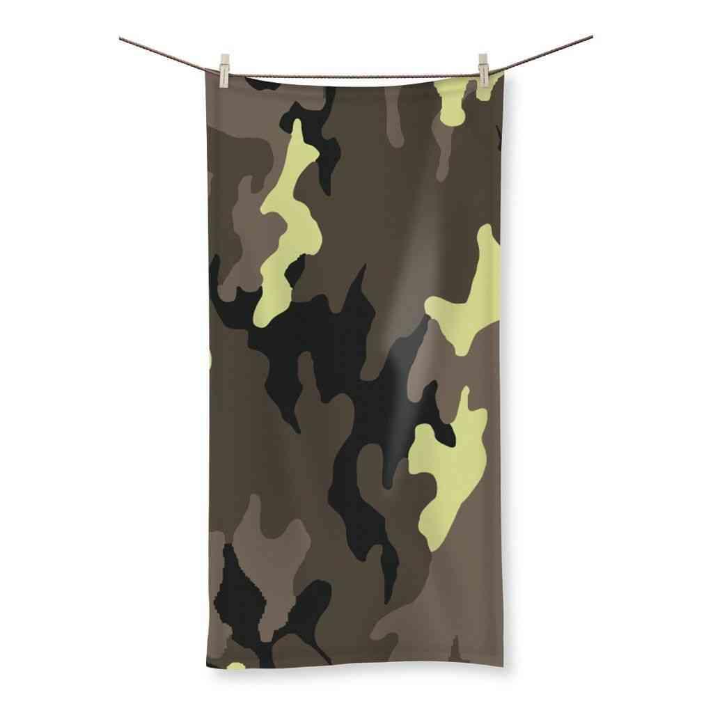 Camofludge Printed Beach Towel