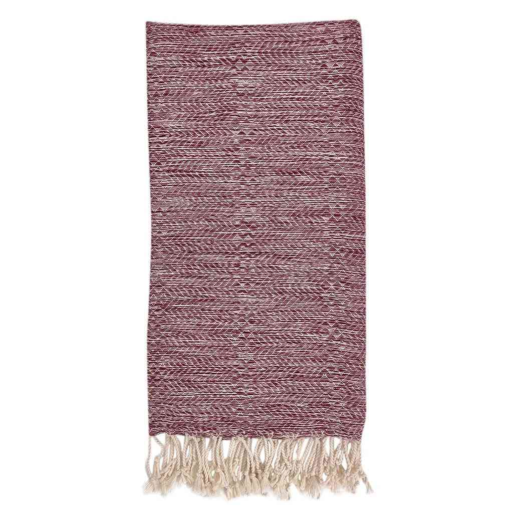 Chevron Melange Turkish Towel