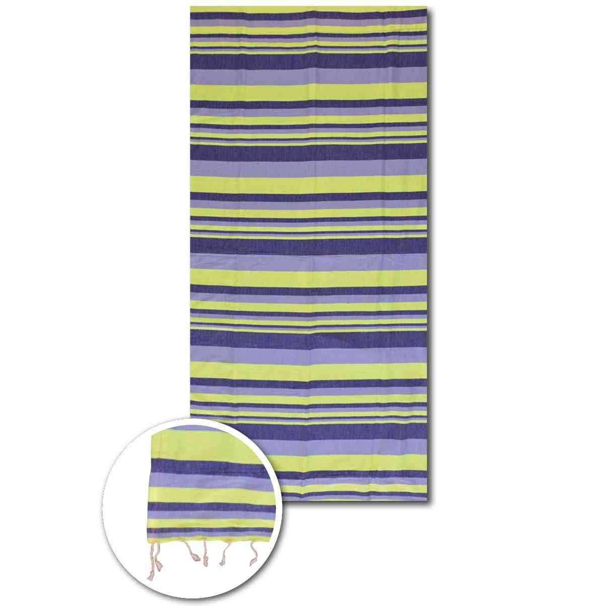 Neon Multi Stripes Beach Towels