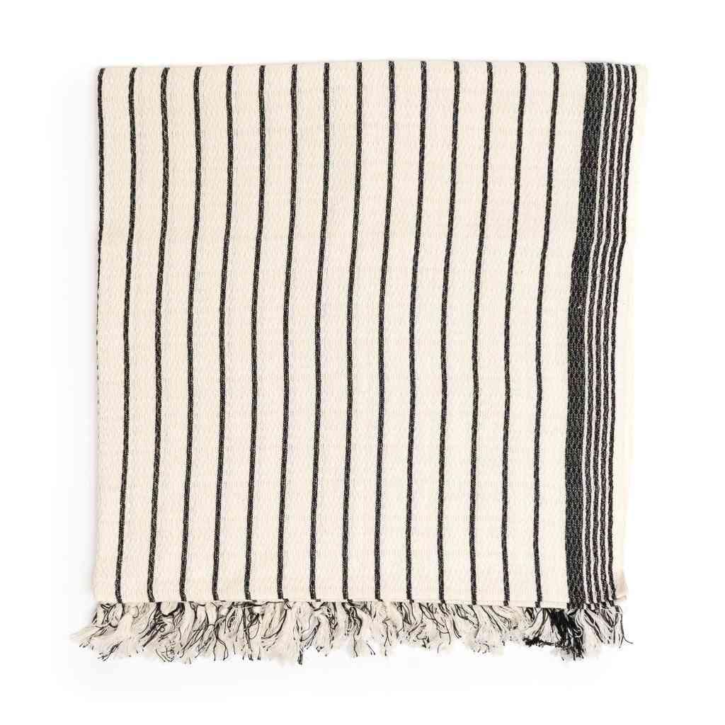 Brusa Peshtemal Pure Cotton Beach Towel