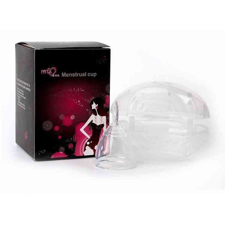 Leak Proof-clean Clear Menstrual Cup