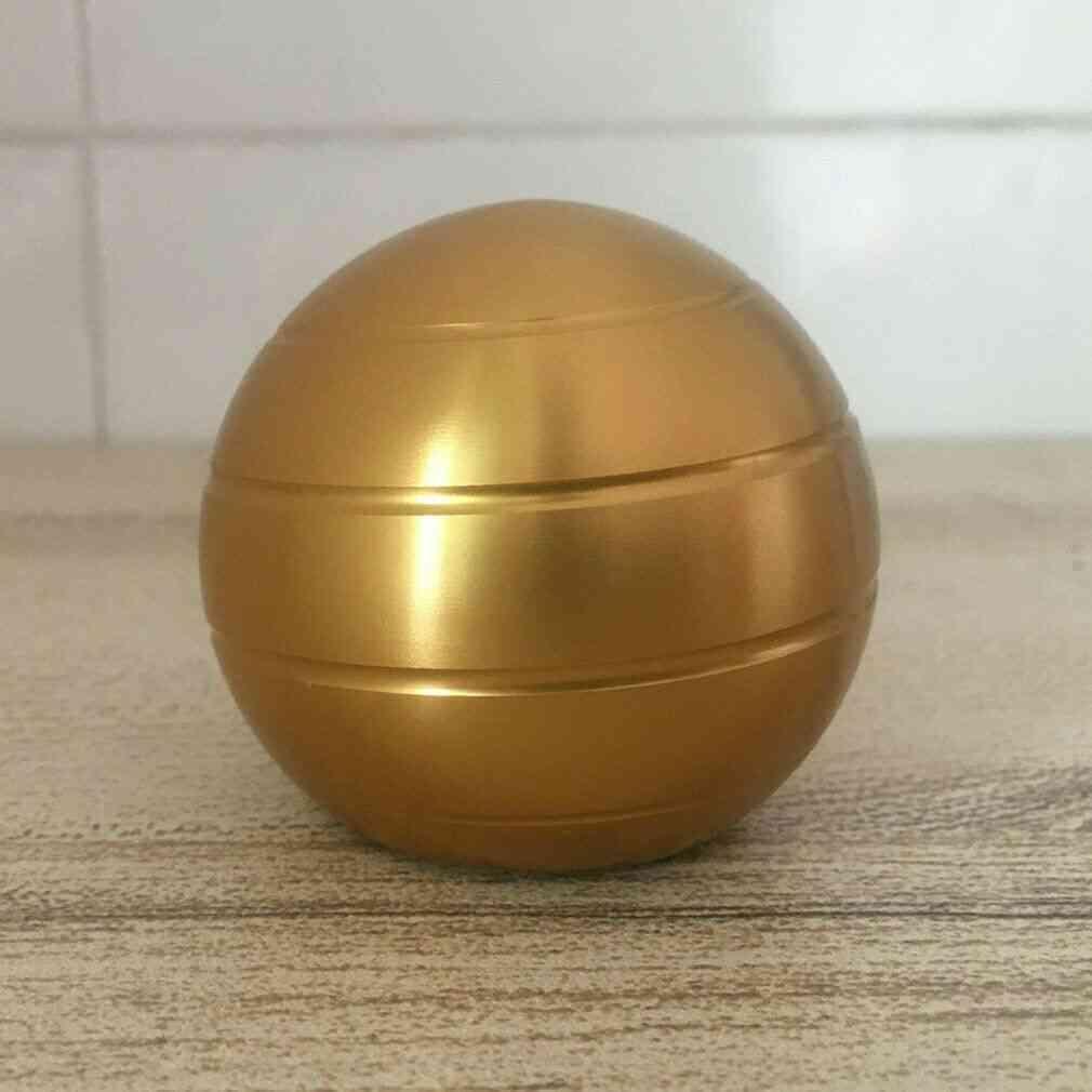Decompression Gyroscope Desktop Toy 45mm Golden