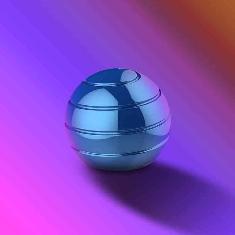 Novelty Decompression Gyroscope Desktop Toy Blue
