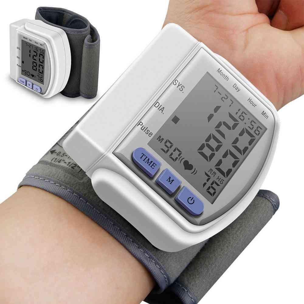 Digital Blood Pressure Monitor Wrist Band