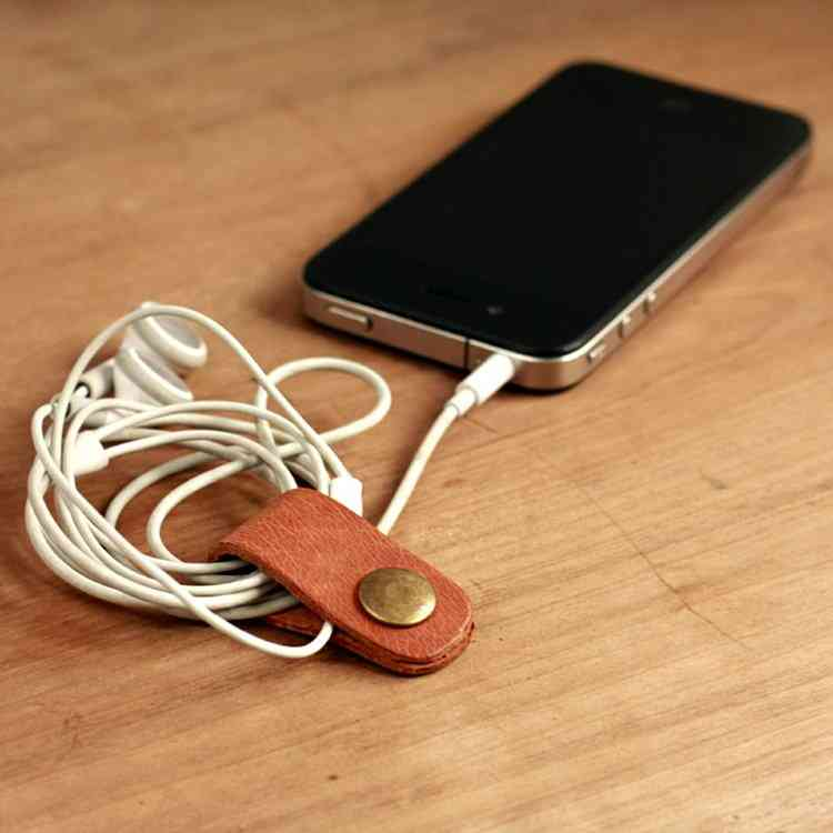 Leather Cable Band