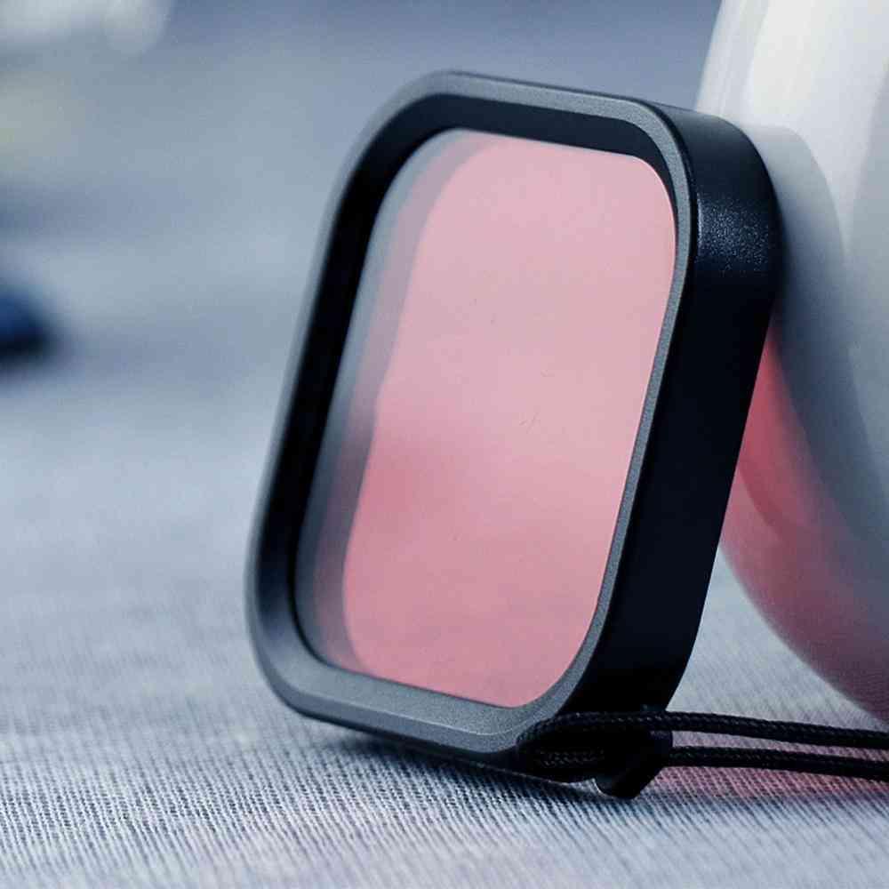 Square Diving Color Lens Filter For Gopro Hero-8