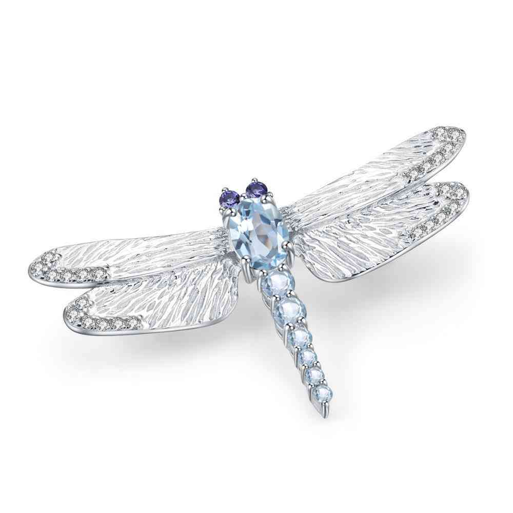 Dragonfly Brooch: Handmade With Love, Rare To Find, Made To Fit Your