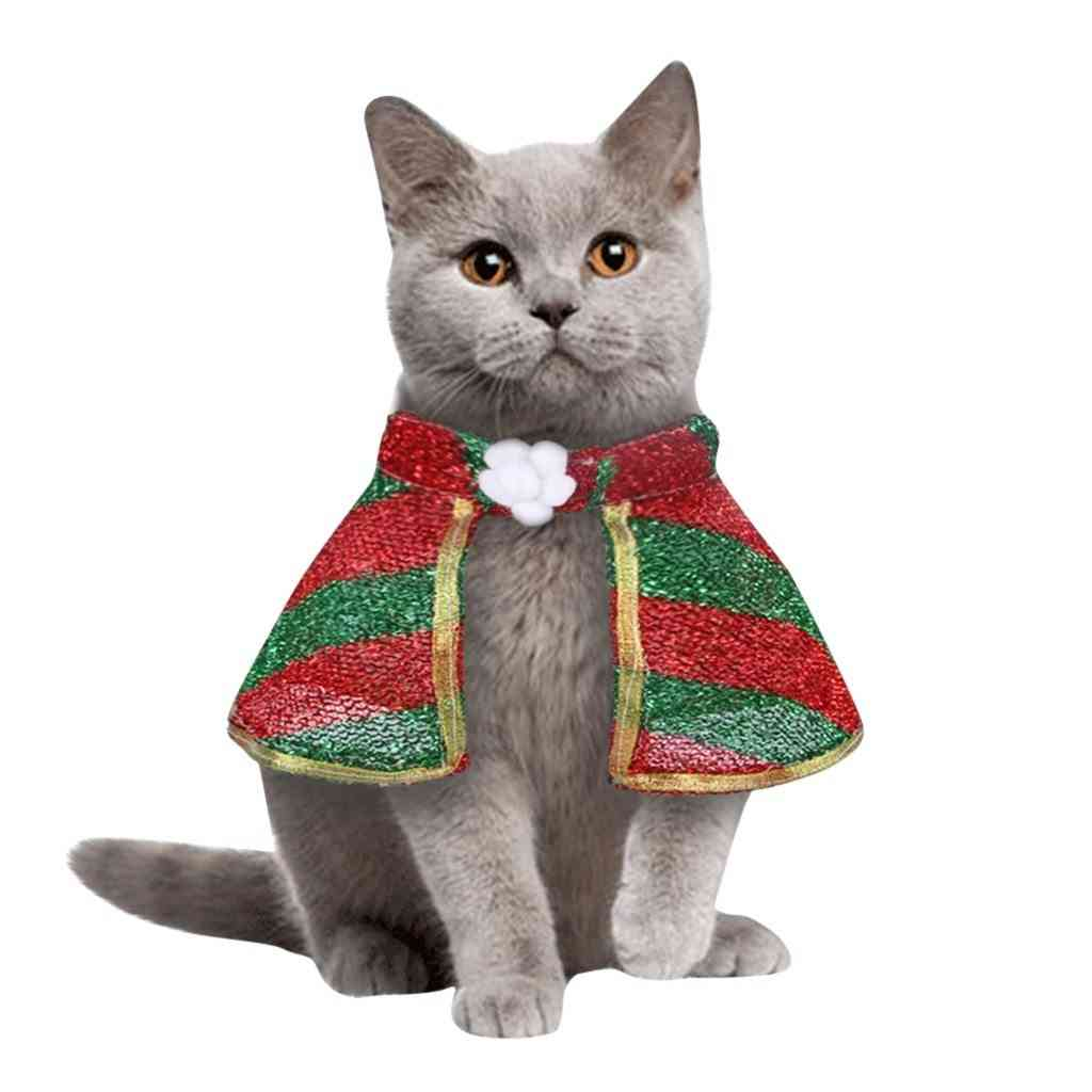 Cat Dog Christmas Cosplay Clothing Lovely Winter Jackets Outfits