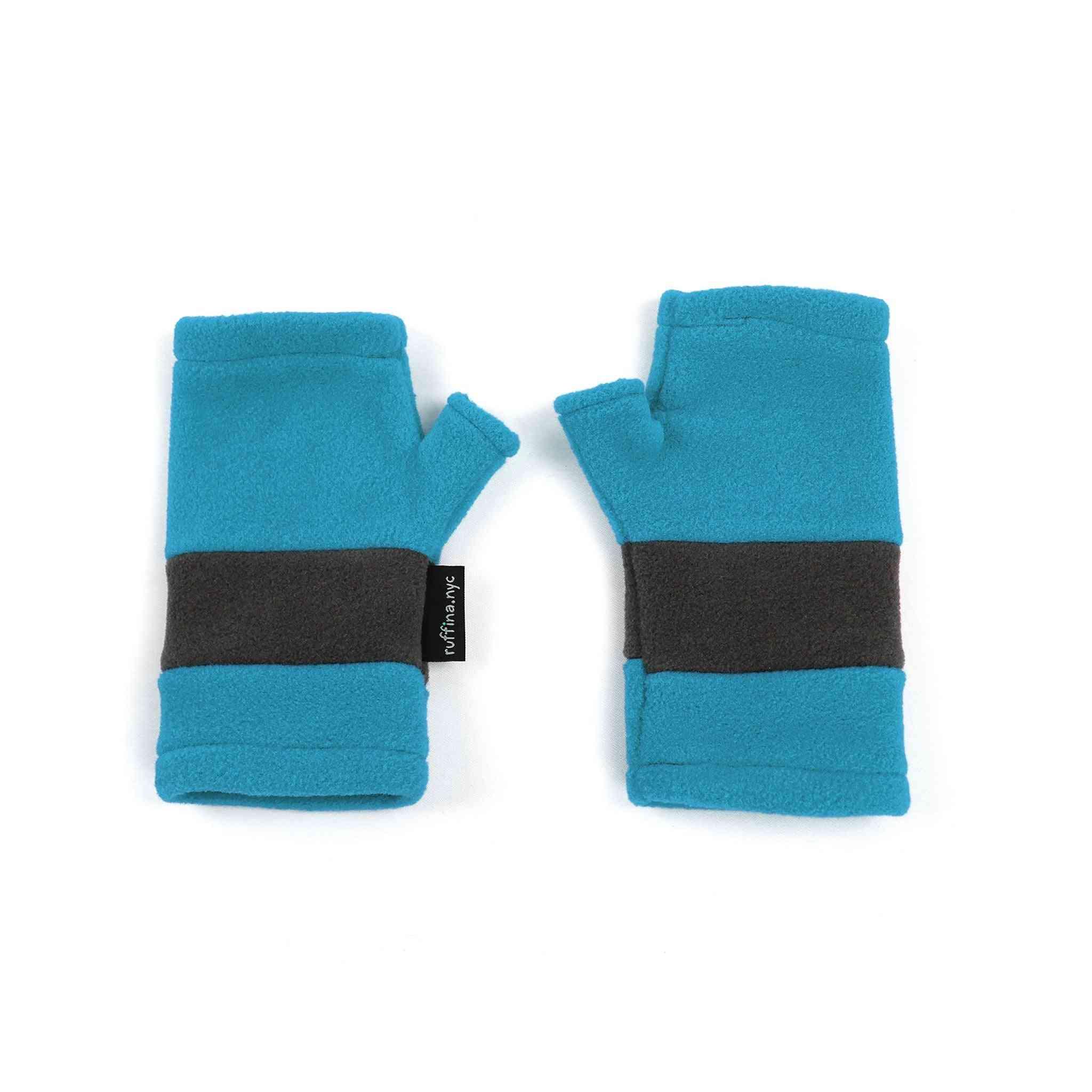 Human Fingerless Gloves