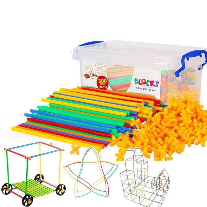 4d Straw Building Blocks  For