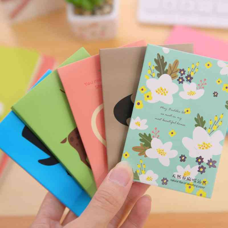 Tissue Makeup Cleansing Oil Absorbing Papers