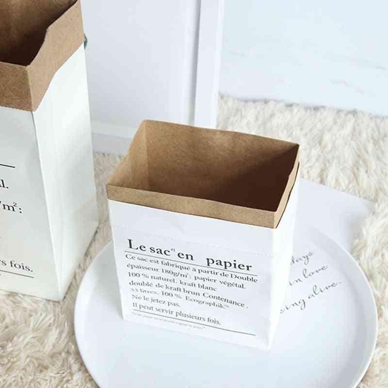 Creative Nordic Style, Craft Paper Storage Bag